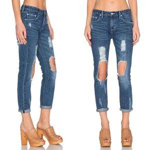 Lovers + Friends Ezra Lexington Distressed Jeans